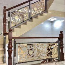 铜楼梯扶手多少钱一米铜艺楼梯栏杆价格大图楼梯护栏精选