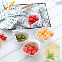 华欣迪陶瓷 新品创意水果型陶瓷小吃碗碟盘餐具系列 支持logo定制