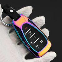 适用于雪佛兰全新科鲁兹迈锐宝XL汽车钥匙包套探界者金属保护壳扣