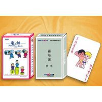 菏泽环宇印刷专业订做广告宣传扑克牌收藏扑克定制异形扑克牌定做