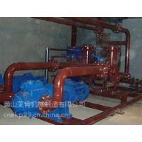 黄山艾肯HSNH210-46NZ炉前液压系统专用三螺杆循环油泵