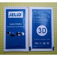 JELID 3D眼镜擦拭湿巾 眼镜消毒纸巾 100%原厂