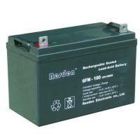 昆山雷斯顿总代理批发零售6FM-120铅酸UPS电源蓄电池12V120AH官网