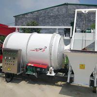达沃LB-1.5废旧沥青加热拌和机路面养护设备厂家直销