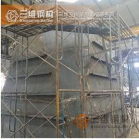山东非标钢结构件、烟风道加工专业靠谱三维钢结构