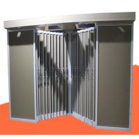 双排平拉板瓷砖展示柜 墙面砖样板展示架 地砖金属展柜