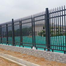 韶关场地通透式围墙围栏批发 广州热镀锌喷涂护栏 防护栅栏价格