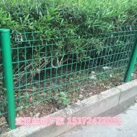 武汉市政花坛围栏网厂家供应 市政护栏网价格 绿色浸塑花坛围栏首推黄陂博达
