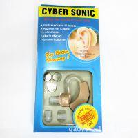 厂家直销 CYBER SONIC 耳挂式助听耳机 扩音 声音放大器英文包装