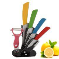 批发零售 礼品厨房刀具 陶瓷刀套装 六件套装陶瓷刀 水果刀