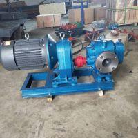 河北高温罗茨泵 铸钢保温泵 电动卧式转子泵专业生产商