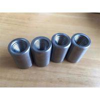 张家口钢筋连接套筒45号碳钢材质|钢筋接驳器|河北亚博厂家供货