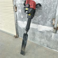 轻便铲头挖树机 断根手提汽油挖树机 富民牌