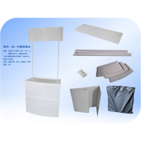 厂家直销 框架促销台 铁质促销台 铝制促销台拉网式 PP促销台