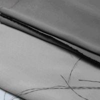 苏州铠纶厂家 纱线阻燃涤纶纯色遮光酒店工程客厅卧室窗帘面料