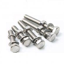 金聚进 304不锈钢外六角螺栓 加长螺杆 M8M10M12M14M16