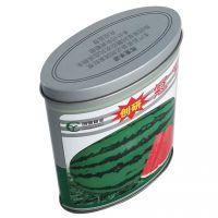 椭圆形铁罐 西瓜籽包装罐 农副产品铁盒定制