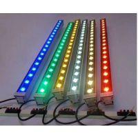led洗墙灯 红 绿 蓝 紫 黄 大功率户外亮化 led洗墙灯 12W 18W 24W