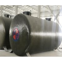 厂家专业生产玻璃钢储罐 SF双层油罐 卧式车载运输液体罐