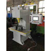 宏冠非标定制100吨槽钢扁钢校直机实时检测 自动判定工件是否合格