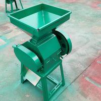 东北家用豆扁机 小型粮食压片机 圣鲁拉丝对辊挤扁机