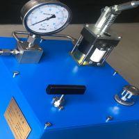 高压水压手动试压泵0-1000bar液压泵站
