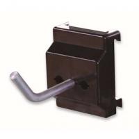 信高方孔挂板塑料底座小型单钩(孔径5mm,L50mm)XDG-001钢质钩