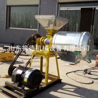 振德牌 新款电动磨面机 家用28型杂粮面粉机 对辊磨面机 价格