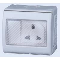 上曼电气NENMMAN 国标带开关插座 MXW-1GSDS 15A-250V~IP55
