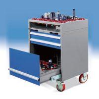 重型刀具车可移动带脚轮刀具架数控刀具车抽屉式带锁CNC加工中心
