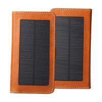 东莞太阳能移动电源真皮可充电智能保护套工厂来图OEM加工定做