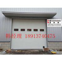 无锡钢结构厂房电动提升门,无锡分节式工业提升门