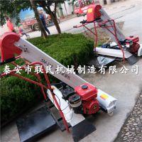 泰安联民新型快速收粮机械 自走式谷物收集装袋机 农用小型收谷机