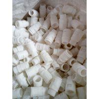 波纹管接头塑料软管接头直插式接头塑料接头波纹管接头白色灰色大量现货