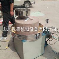 振德畅销 电动豆制品加工石磨豆浆机 米浆花生酱石磨机 香油磨