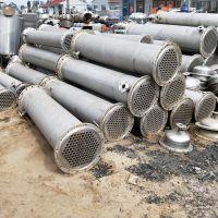供应二手不锈钢管式换热器 板式换热器 石墨冷凝器10-800平方