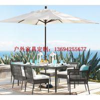 供应卓意林品牌 ZYL-FTZY 083 北京定制编藤家具桌椅、仿藤家具桌椅价格