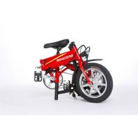 锂电池折叠电动车自行车
