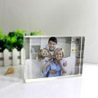 亚克力水晶透明相框,5,7,10寸规格,生活照婚纱照可摆