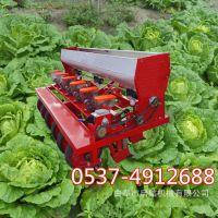 拖拉机4行香草播种机 4行苋菜下种机 芥菜播种机厂家
