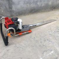 树苗移植断根机 单人操作移植断根机 小树苗带土球挖树机批发