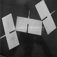 供应电解水机涂铂钛电极 纯铂涂层钛阳极 水处理用涂铂钛电极
