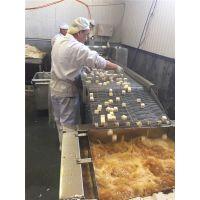 哈尔滨油水分离商用电加热豆泡油炸机 鱼豆腐油炸设备佳美现货秒发