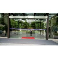 自动门安装上海自动感应门全钢化玻璃门弧形旋转门专业安装