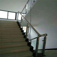 耀恒 不锈钢圆管立柱 不锈钢立柱栏杆 304圆管护栏扶手