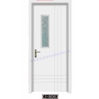 专业生产供应:康富家木塑室内套装门 学校专用门
