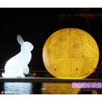 辽宁锦州充气气模发光玉兔多少钱