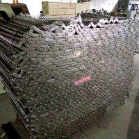金属输送网带用于大型和重型输送机网带 乾德生产