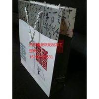 西安秦畅手提袋 白卡纸袋牛皮纸袋 无纺布袋定做加工制作印刷