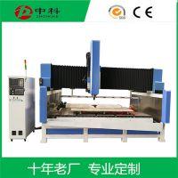 CNC石材橱柜台面铣型磨边机 ZK异型台面全自动加工设备订购厂家